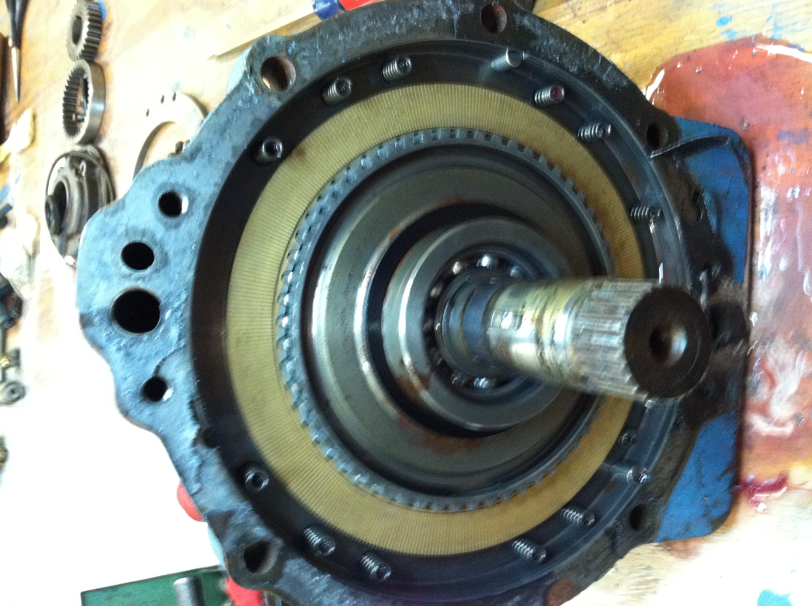 How To Drive Manual >> Disassembly Pictures Borg Warner Velvet Drive 1:1 71C